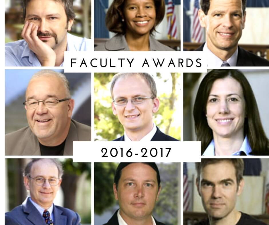 2016-17 Faculty Honors